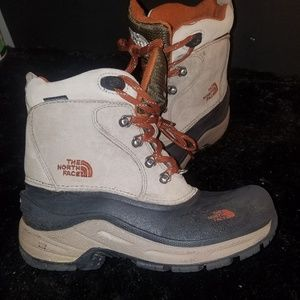 The north face boys winter boots